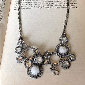 Sorrelli Circular Snow Bunny Necklace